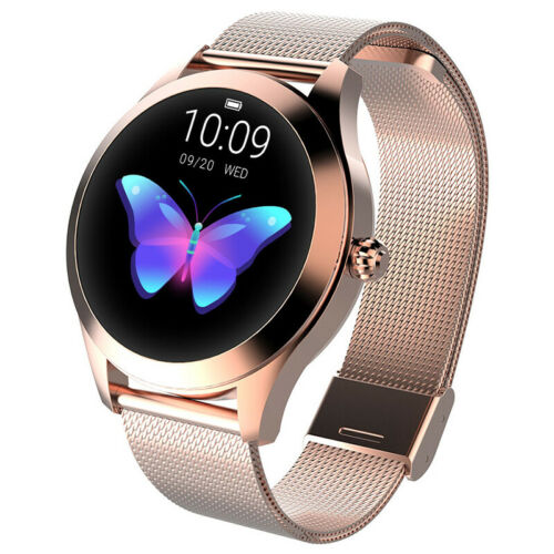 Smart Watch Women Waterproof Heart Rate Monitoring Stainless