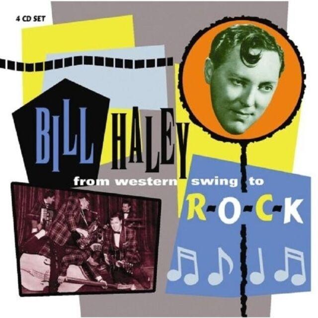 BILL HALEY - FROM WESTERN SWING TO ROCK 4 CD NEU