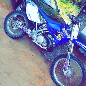 2013 YZ250 2 stroke race bike