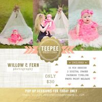 Teepee Mini Pop up- Today ONLY $30.00