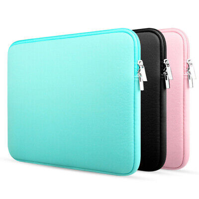 Padded Laptop Pouch - Laptop Protective Case Pouch Bag Cover for MacBook Air/Pro 11/12/13/14/15.6