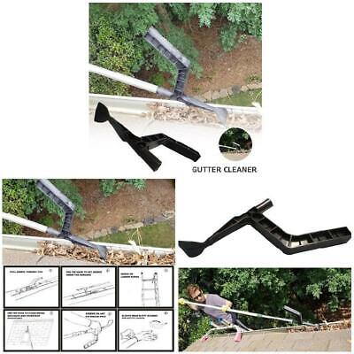 Black Gutter Best Scoop Behind Skylights Roof Cleaning Home For Garden Tool
