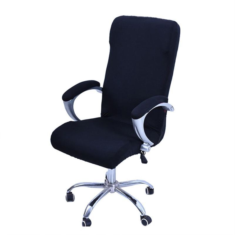 Large Elastic Computer Office Rotating Chair Cover Stretch S