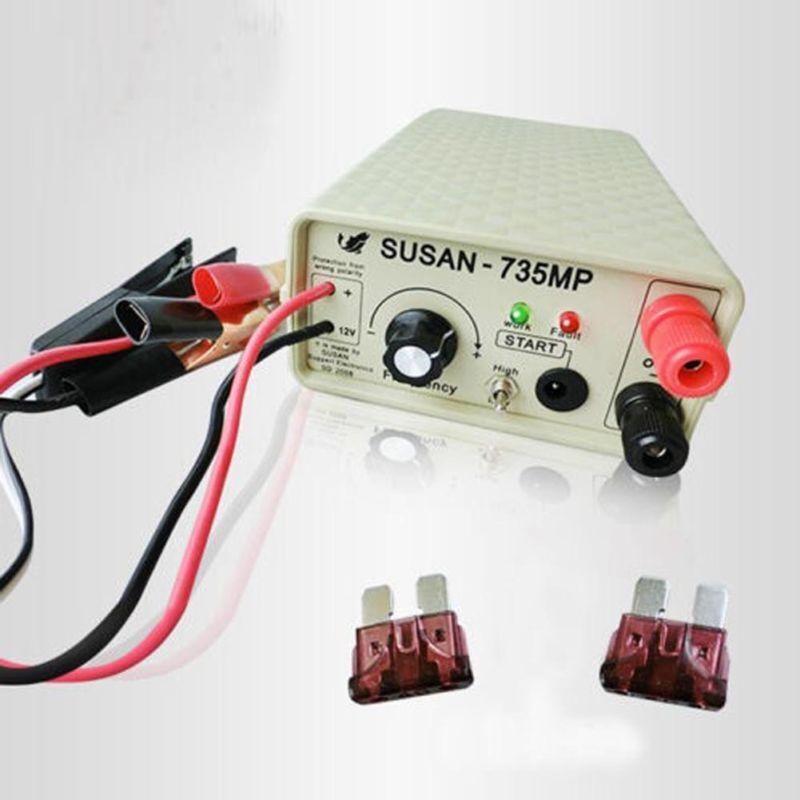 Ultrasonic Inverter 735MP Electro Fisher Fish Machine Shocker Stunner F/ SUSAN