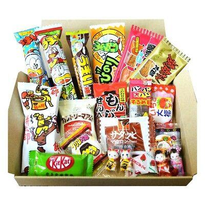 Trial Japanese Snack Dagashi BOX 20 pcs chocolate umaibo KitKat chocolate candy