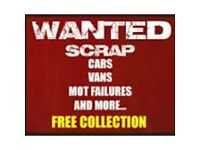 Scrape cars wanted cash payment today