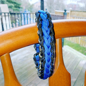 Paracord bracelet for 8 inch circumference wrist