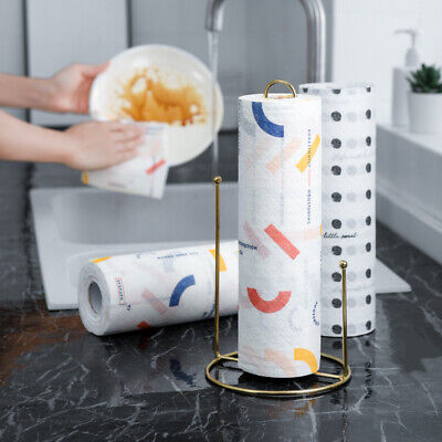 Printed Kitchen Dishwashing Oil-absorbing Paper disposable Wet and Dry (Disposable Dry Wipes Paper)
