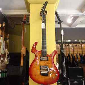Guitare électrique Parker Nitefly Mojo Flame Top IMPECCABLE ( 110017468 )