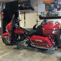 2007 Harley davidson ultra classic, limited firefighter edition