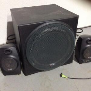 Speakers and Sub