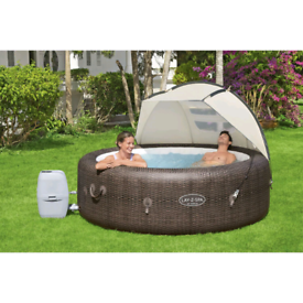 Lay-Z-Spa🩳👙Canopy🏖️ Hot Tub Vegas Miami Palm Spa Water Proof fabric