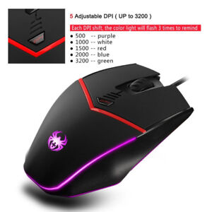Brand New Progromming Gaming Mouse Wired