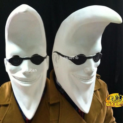 Hot Sales Promotion Moon Man Mask Funny Cosplay Halloween Party Latex Headgear - Promotion Halloween
