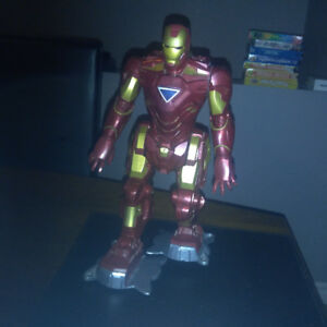 "Iron man 13"" walking figure"