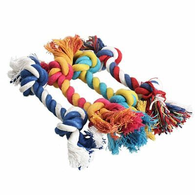 15cm Dog Chew Toy Braided Dogs Bone Rope Pet Puppy Cotton Chew Durable Knot - Durable Knot Dog Bone