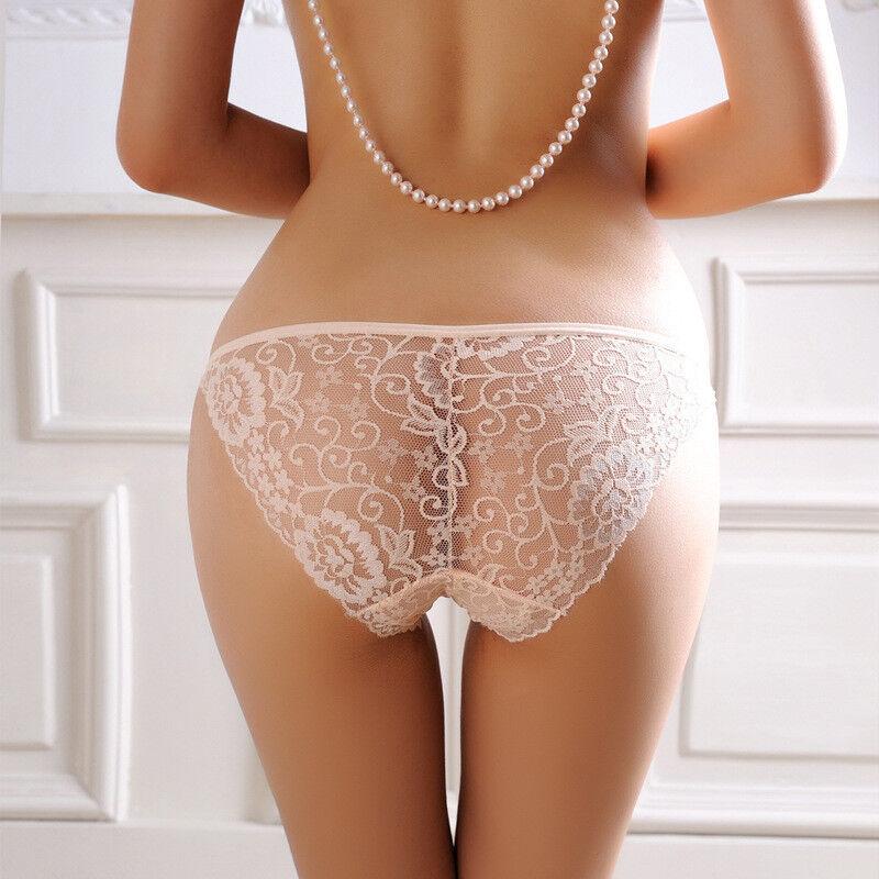 Seamless Lace Underwear Sexy Transparent Net Panties Low Waist Women's  Lingerie | eBay