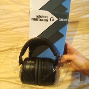Hearing protection headphones