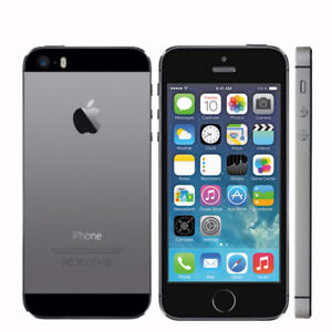 Iphone 5s black like new locked to rogers + black otterbox case
