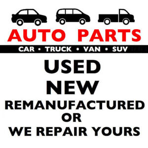AUTO PARTS. USED-NEW-REBUILT. CAR/TRUCK. DOMESTIC/IMPORT