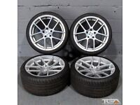 """19"""" New Ex Stock Staggered Ispiri ISR6 for an E90, E91, E92 and E93 BMW 3 Series."""