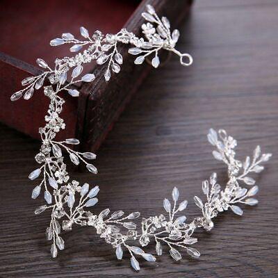 Tiara Cristal Estrás Diadema Corona Concursos de Belleza Pelo Boda Reina Novia