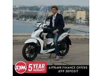 Sym Symphony ST 125cc big wheel automatic learner legal moped Scooter For Sal...
