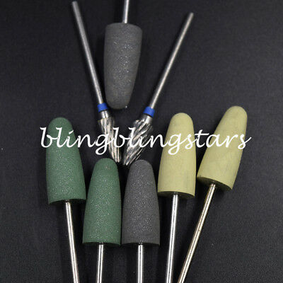 1 Kit Hp Dental Resin Base Acrylic Tungsten Carbide Steel Bur Drill Polisher