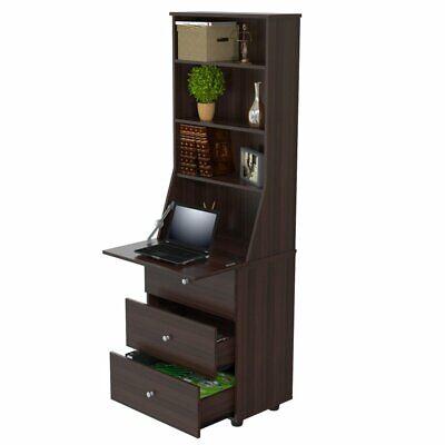 Inval Espresso Bookcase