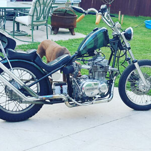 Custom chopper for sale $3750 obo