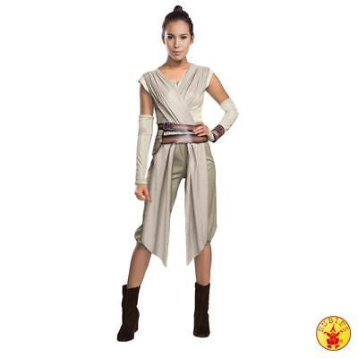 Deluxe Rey Star Wars Damen Kostüm Fasching Karneval - Rey Star Wars Kostüm Damen