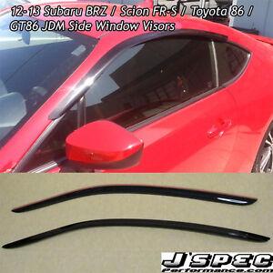 Subaru BR-Z rear visor n winter rims and alloy special