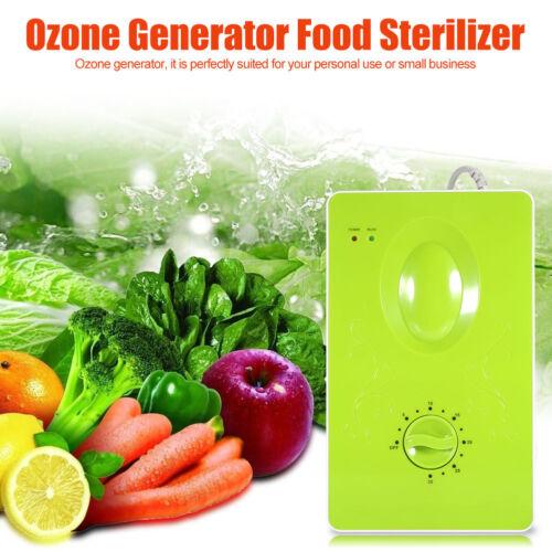 50Hz Ozone Generator Ozonator 400mg/h Air Purifier Water Vegetable Sterilizer AF