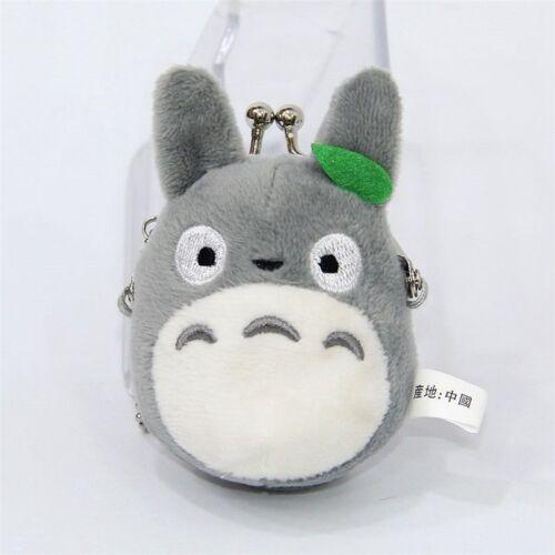 Studio Ghibli My Neighbor Totoro Left Plush Doll Toy Mini Holder Coin Bag Gift
