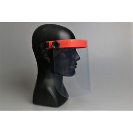 Full Face Shield Visor Protection - Decent Quality Anti Fog Orange