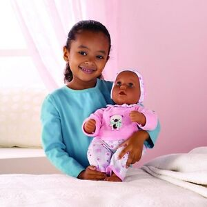 NEW:Interactive Baby Doll(Dark complexion available only)