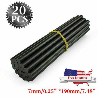 Best 20PCS Glue Sticks Black Dent Hail Repair Tools Car Paintless Dent Repair