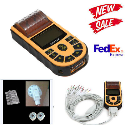 Contec Ecg80a Portable Hand-held Single Channel Ecg Ekg Machine Softwareusa