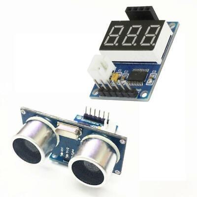 New Hc-sr04 Ultrasonic Distance Measuring Sensor Module Led Display Range Finder