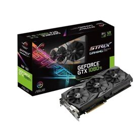 ASUS Strix GeForce GTX 1080Ti - 11GB GDDR5X - Ultimate Gaming Graphics Card