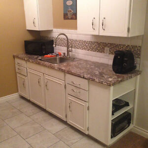 Separate Entrance Furnished One Bedroom Suite Avail now