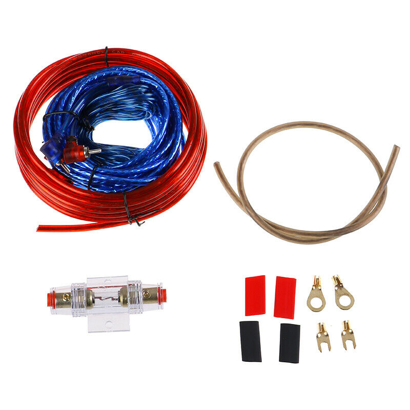 1500w Car Amplifier Wiring Kit Audio Subwoofer AMP RCA Power