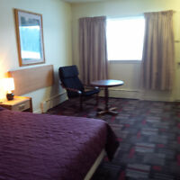 Furnished Motel Room