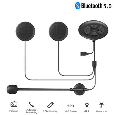 On Sale !! Motorcycle Intercom Bluetooth Headset Riders Helmet Interphone System