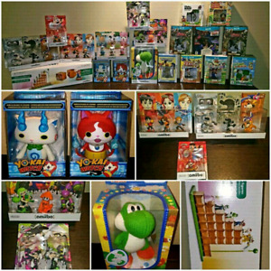 AMIIBO NEW AND USED / NEUF ET USAGÉE