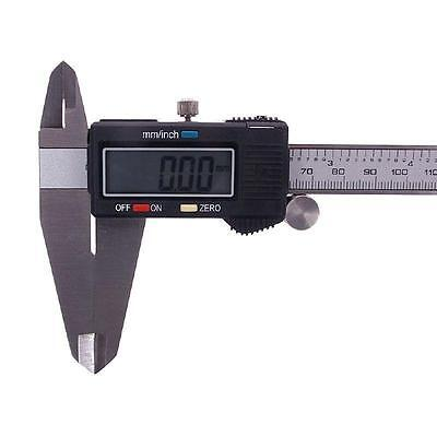 """New 12"""" Electronic Digital Caliper Precision Stainless Inch/Metric LCD Dial Tool"""