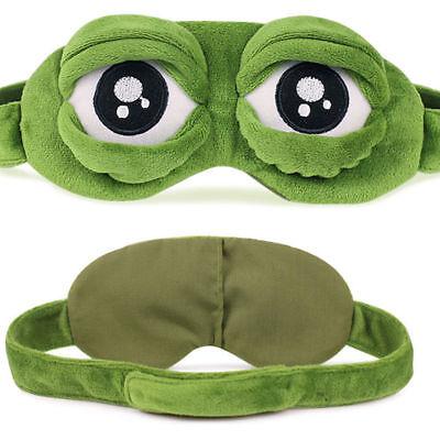 3D Cartoon Sleep Mask Frog Eye Cover Eye Blindfold Sleeping Make Kids Adult Fun (Cartoon Eye)