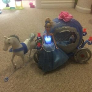 Cinderella horse carriage