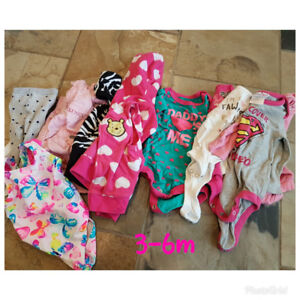 Little girl clothing and shoes  3m-24m