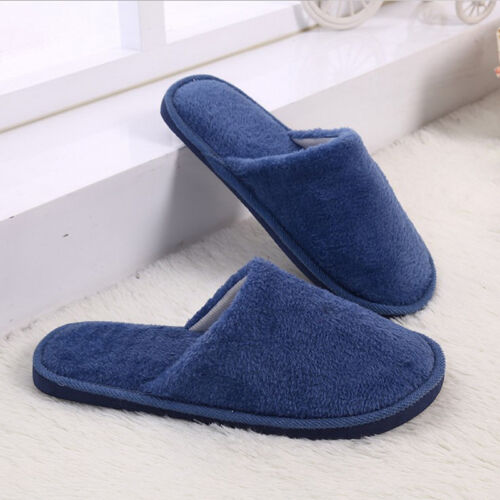 Disguised Time Christmas Unisex Cotton House Slippers Flat Indoor Slip on Shoes Slippers